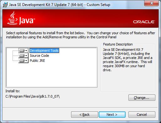 Java 7 Installer