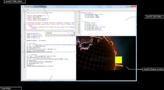 FXPlayground's editor windows