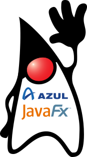 Duke's shirt with Azul and JavaFX.